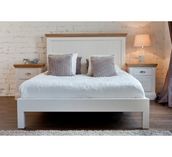 King size panel bed COL811